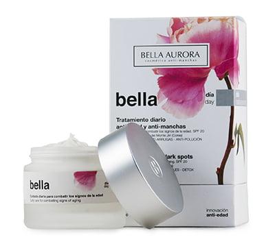 Bella Aurora lanza Bella, crema antiedad y antipolución