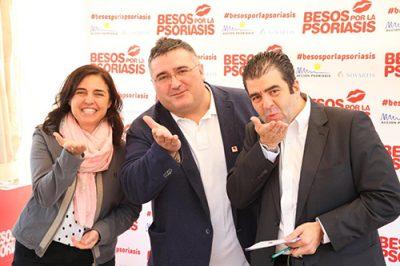 'Besos por la psoriasis', campaña para impulsar la concienciación social
