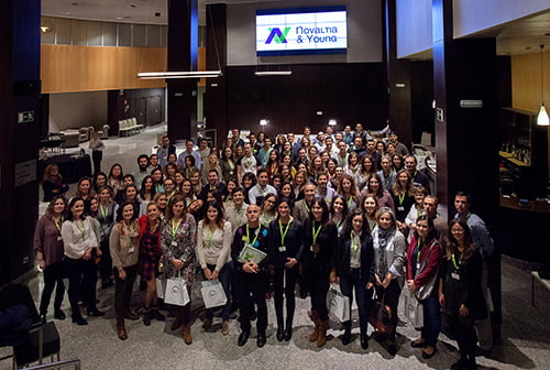 Encuentro de jóvenes farmacéuticos 'Novaltia & Young'
