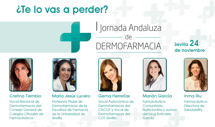 Más de 400 farmacéuticos, en la I Jornada Andaluza de Dermofarmacia