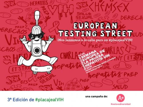 Madrid, Málaga y Torremolinos centros del #placajealVIH