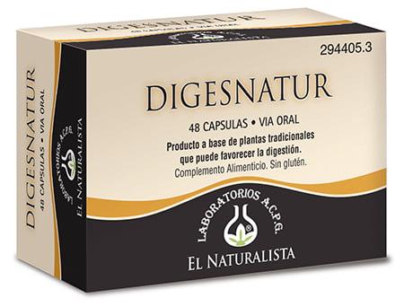 Digesnatur favorece la digestión y elimina los gases