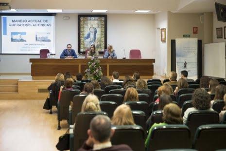 Unos 200 profesionales farmacéuticos participan en las sesiones formativas sobre queratosis actínica