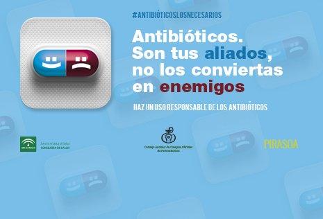 #antibióticoslosnecesarios, nueva campaña de las farmacias andaluzas en pro del uso correcto de antibióticos