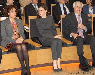 """Reina Letizia: los colegios y centros de enseñanza, """"grandes prescriptores de salud"""""""