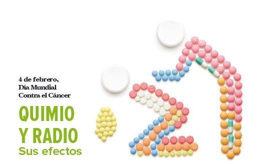 Quimio y radio, sus efectos