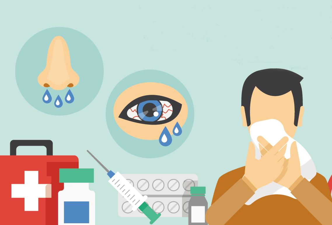 Conjuntivitis alérgica,¡no llores más!