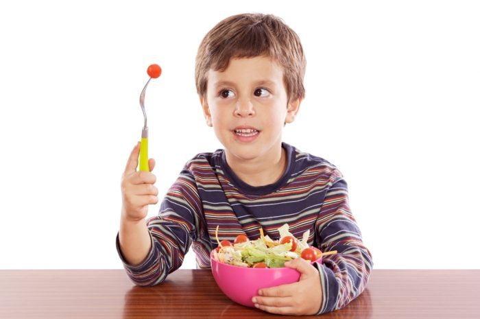Niños veganos,un desafío para el pediatra