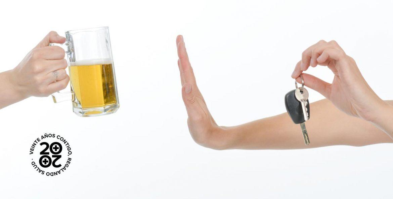 Alcohol y conducción: no te confíes