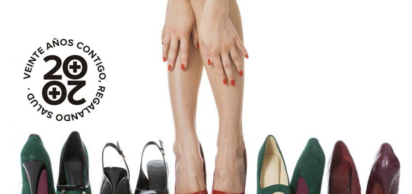 Sandalias y tacones, ¡enemigos de tus pies!