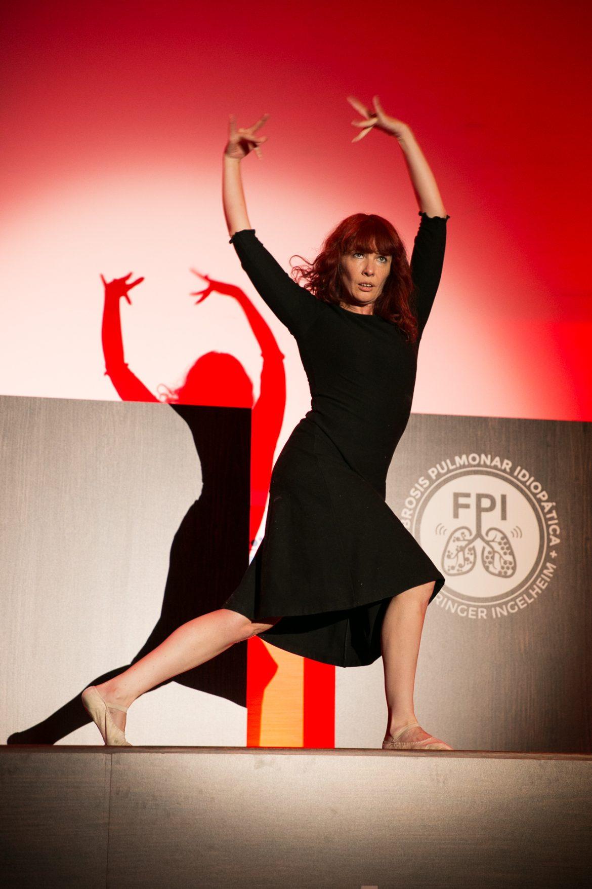 La danza, protagonista en la Semana Internacional de la Fibrosis Pulmonar Idiopática