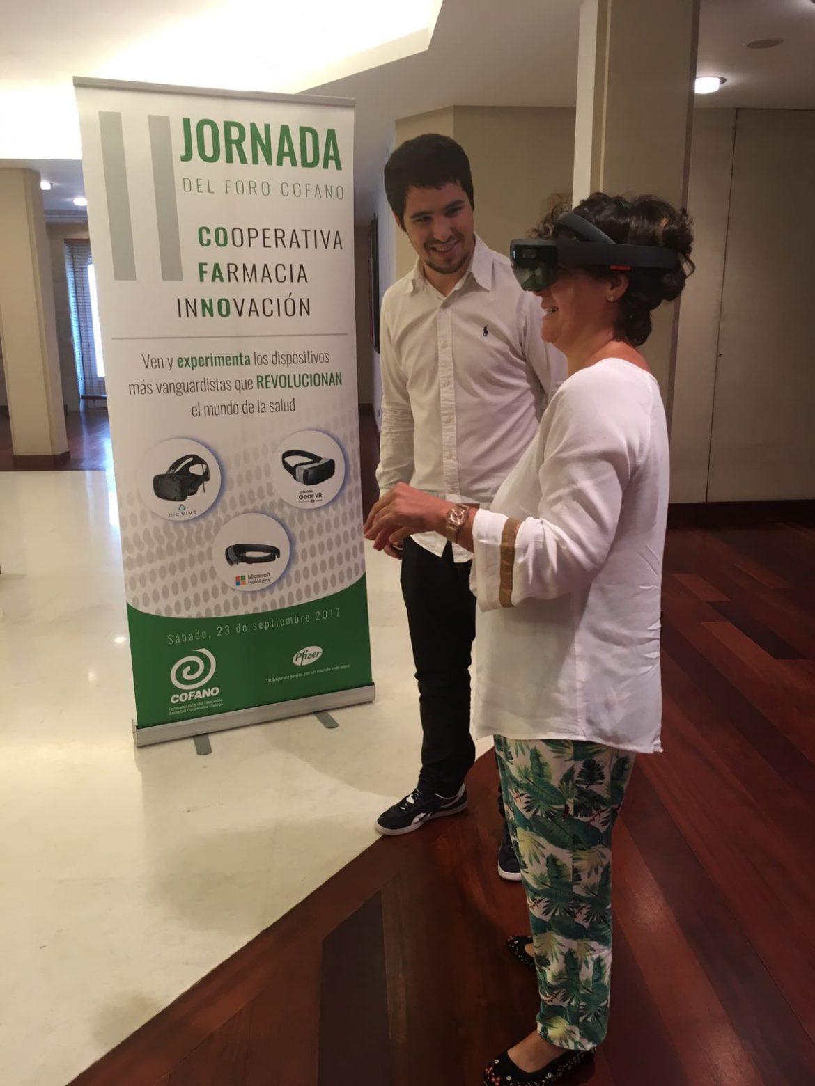 Distribución con drones y realidad virtual en el Foro COFANO