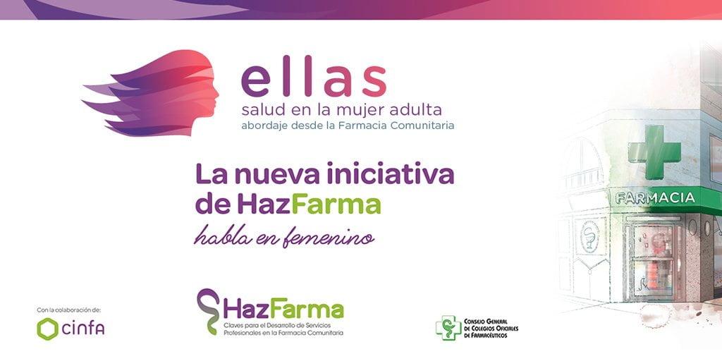 """""""ELLAS"""", nueva iniciativa para mejorar la salud de la mujer desde la farmacia"""