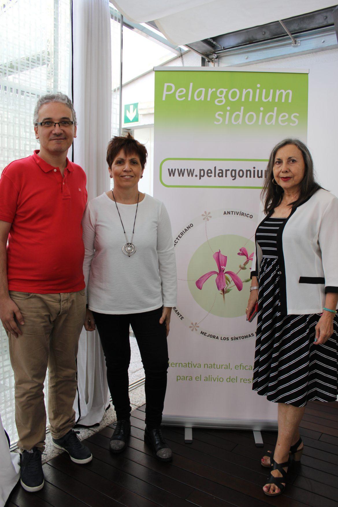 Pelargonium sidoides, una planta para combatir el resfriado