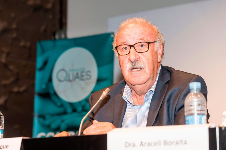 """Vicente del Bosque: """"Los casos de muerte súbita nos conciencian de la necesidad vital de buenas prácticas en el deporte"""""""