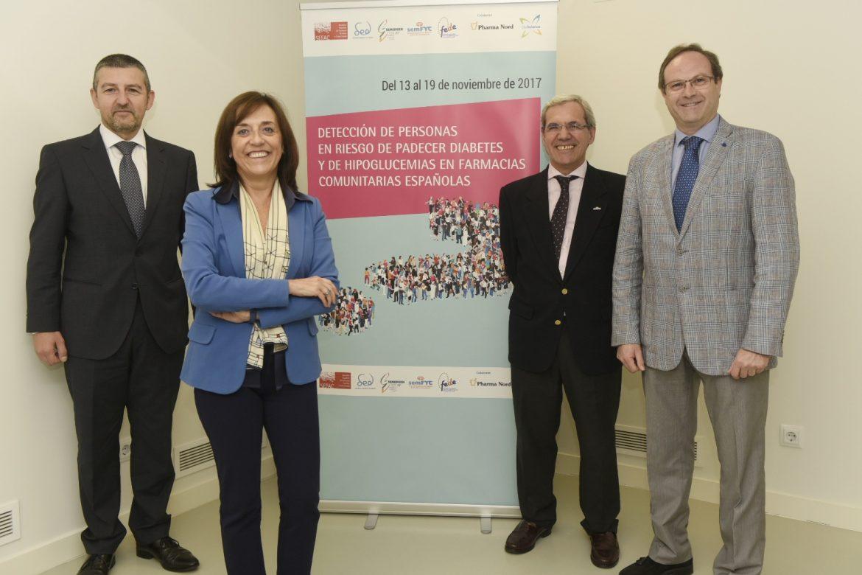 Médicos, farmacéuticos y pacientes, unidos contra la diabetes