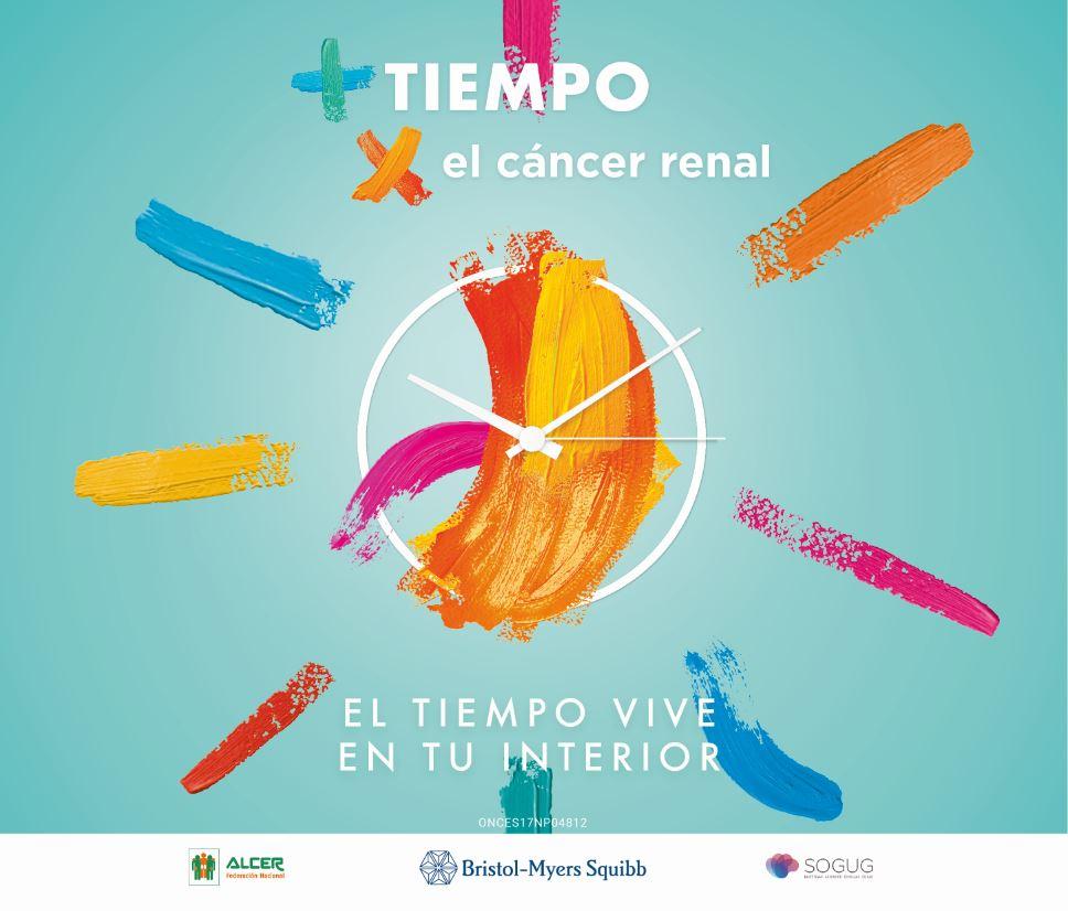 """Una campaña pone el foco en el """"tiempo"""" como factor clave en cáncer renal"""