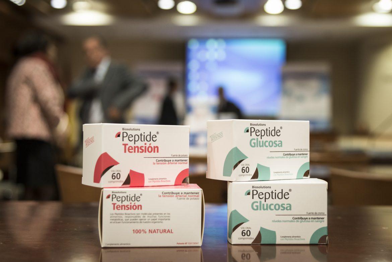 Peptide Tensión y Peptide Glucosa consiguen bajar la tensión y la glucemia