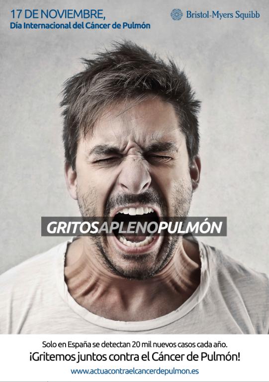 La campaña 'Gritos a pleno pulmón' aterriza en Atocha del 15 al 17 de noviembre