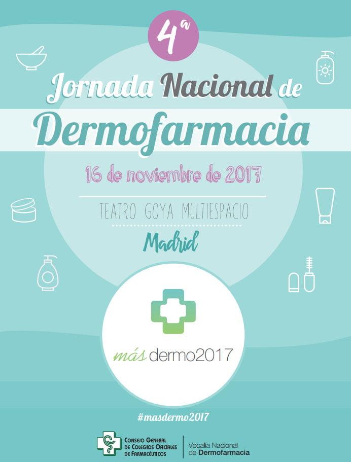 """La IV Jornada Nacional de Dermofarmacia """"Masdermo2017"""" reúne en Madrid a más de 400 farmacéuticos"""