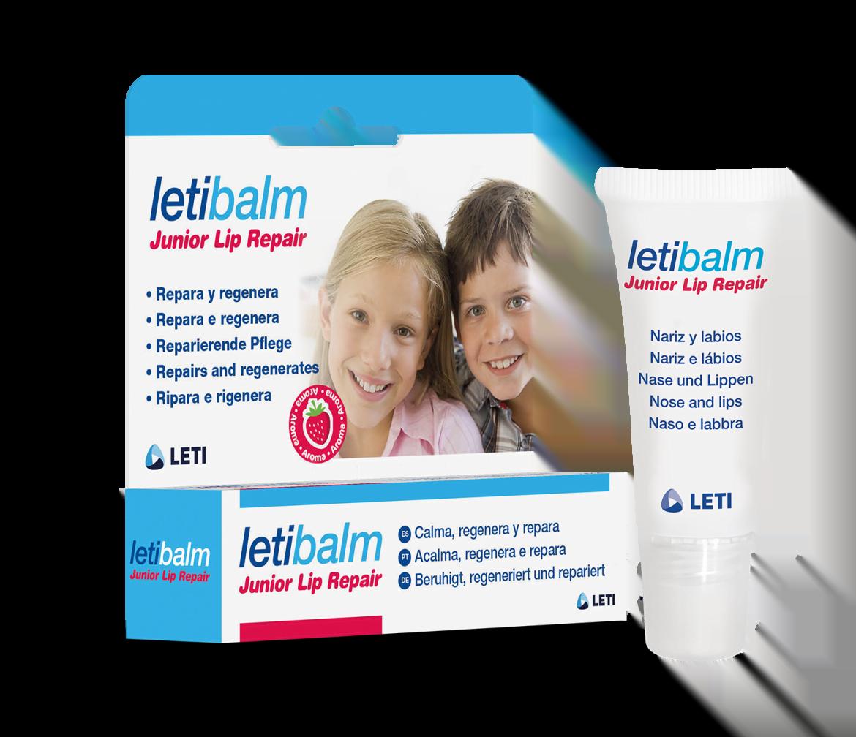 Letibalm Junior Lip Repair, el nuevo bálsamo reparador de nariz y labios para niños