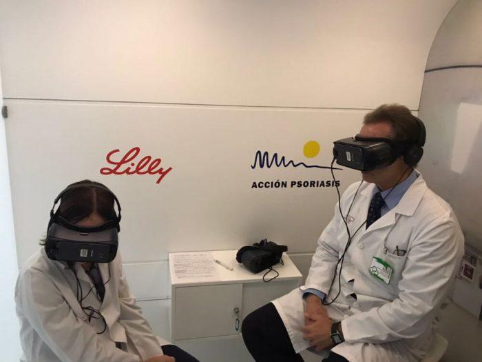 Combatir el estigma de la psoriasis a través de la realidad virtual