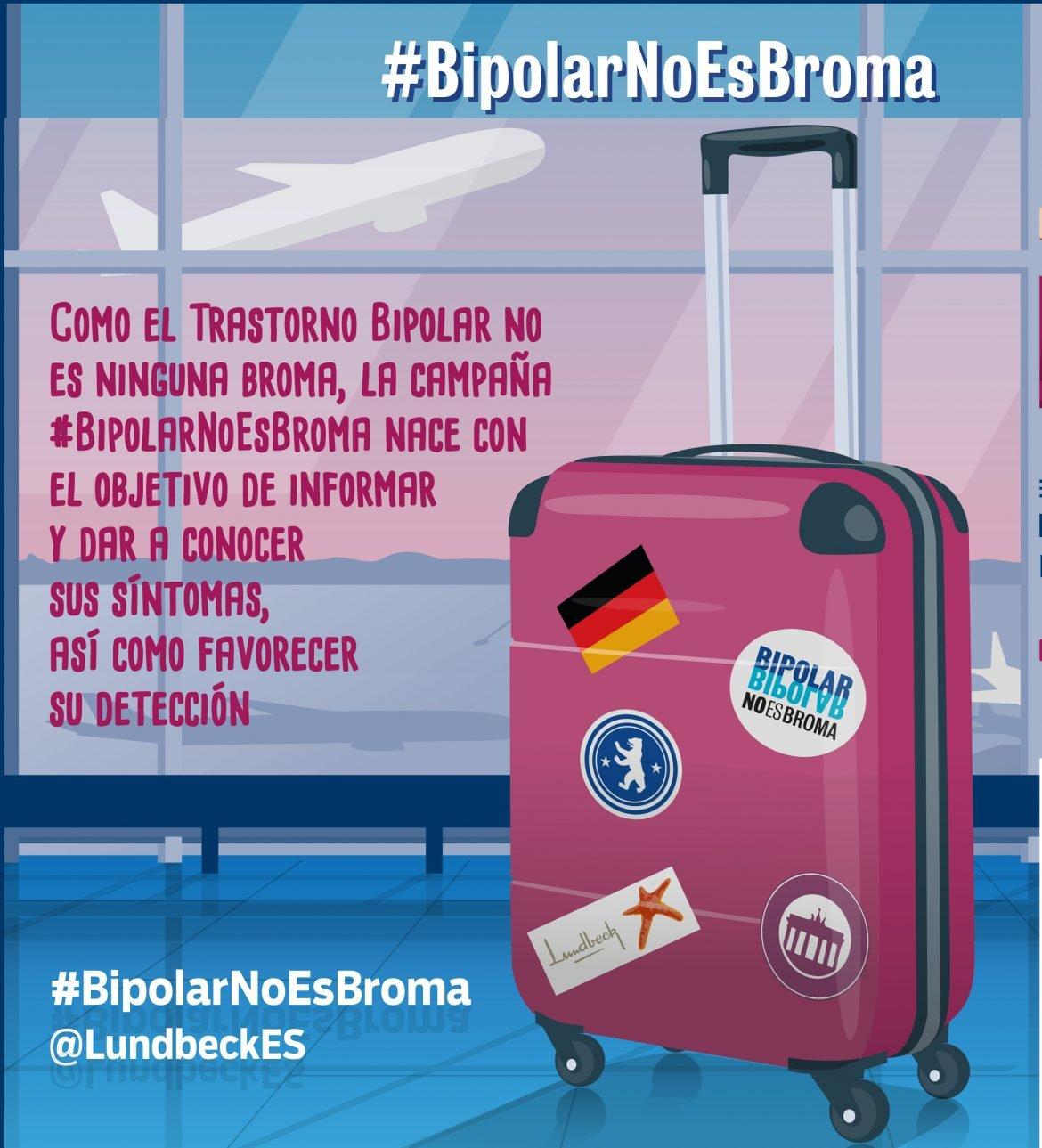 #BipolarNoEsBroma, una campaña para concienciar sobre el trastorno bipolar