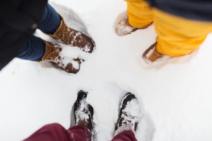 ¿Bajo cero? 7 consejos de los podólogos para tus pies