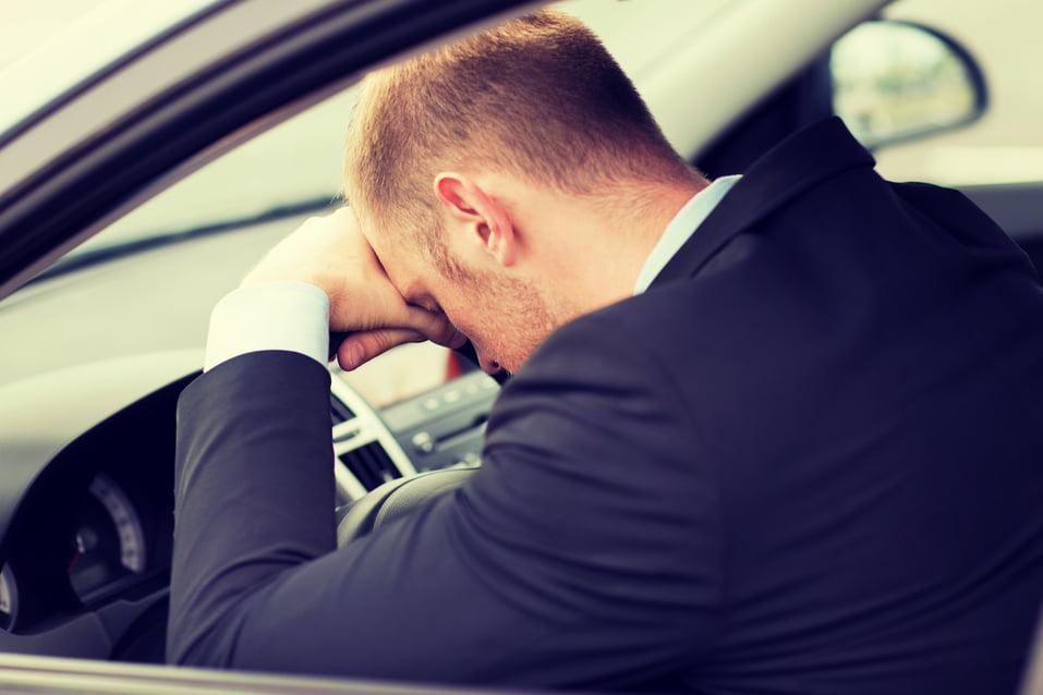 Apnea del sueño, ¡peligro de accidentes de tráfico!