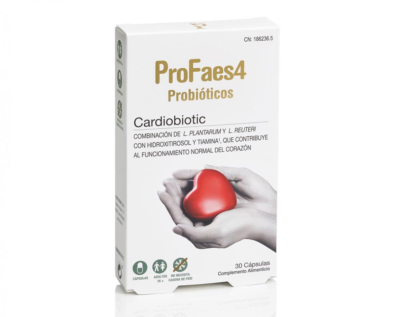 ProFaes4 Cardiobiotic ayuda a reducir el colesterol