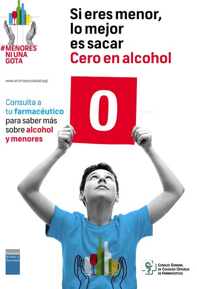 Las farmacias lucharán contra el consumo de alcohol en menores