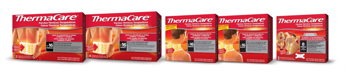 ThermaCare, parches para el dolor muscular