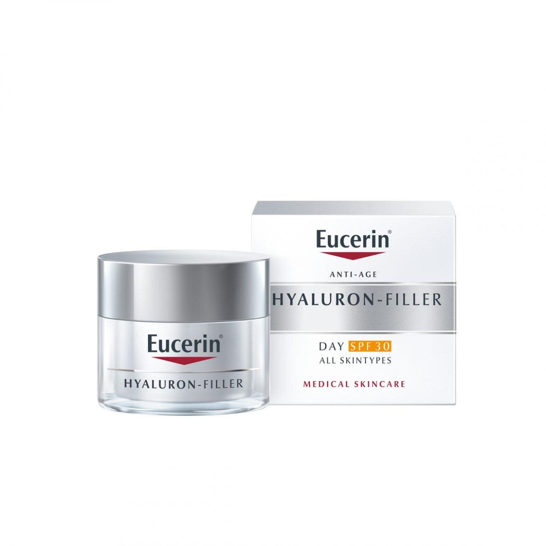 Eucerin Hyaluron-Filler se renueva con un factor de protección fps 30