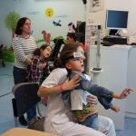 niños con parálisis cerebral severa