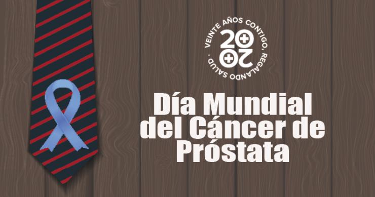 Día Mundial del Cáncer de Próstata