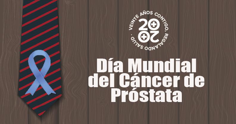 Día Mundial del Cáncer de Próstata, tumor más frecuente en hombres