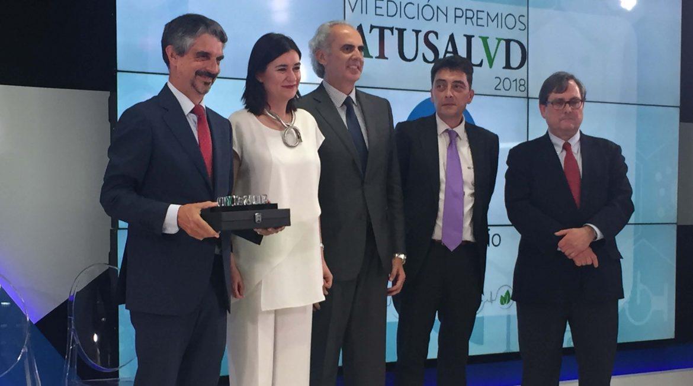 """Anefp recibe el premio """"A tu salud"""" por el 40 aniversario de su fundación"""
