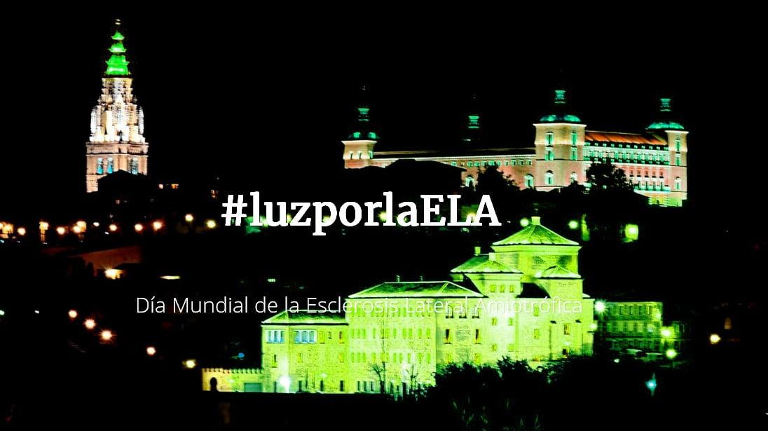 España se ilumina de verde por la ELA