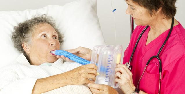 Fisioterapia respiratoria, muy beneficiosa pero poco implantada