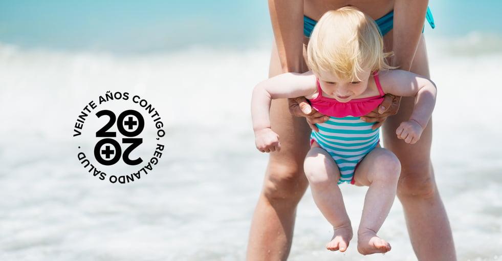 Protección solar: niños pequeños, cuidados máximos