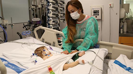 Realizado con éxito un trasplante de hígado split a dos niñas en el Vall d'Hebron