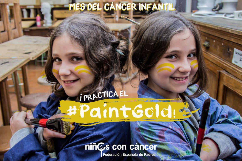 En septiembre ponte el lazo dorado por los niños con cáncer infantil