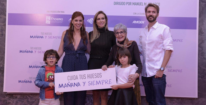 Concha Velasco protagoniza el corto 'Mañana y siempre' sobre la osteoporosis