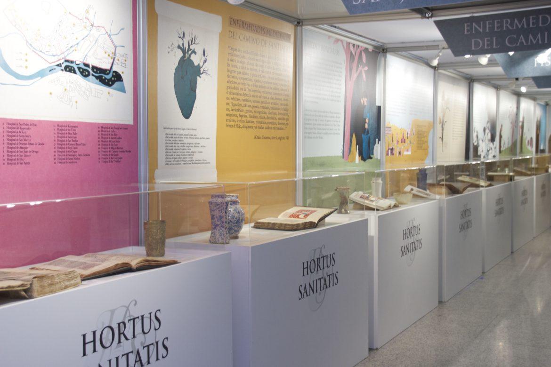 Burgos acoge una exposición de piezas de farmacias monásticas y hospitalarias del Camino de Santiago