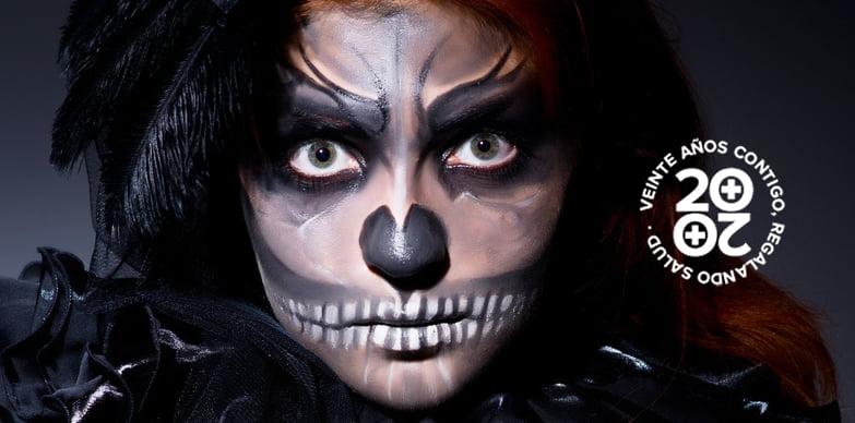 En Halloween, ¡cuidado con los ojos!