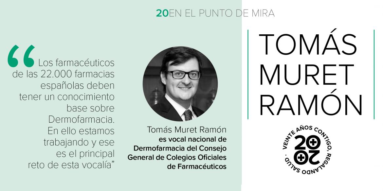 """Tomás Muret: """"Medicina, Enfermería y Farmacia deben ir de la mano. No estamos para enfrentarnos, sino para crear sinergias"""""""