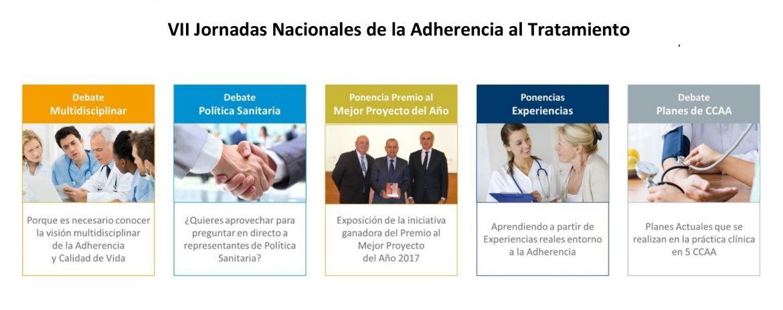 14 y 15 de noviembre, VII Jornadas Nacionales de la Adherencia al Tratamiento
