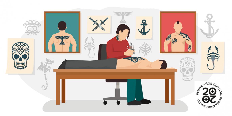 Tatuajes, ¿riesgo de hepatitis C?