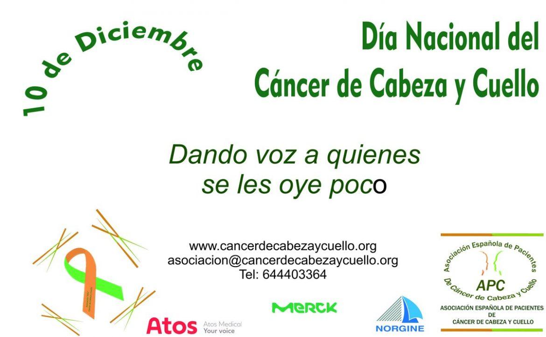 10 de diciembre: Día Nacional del Cáncer de cabeza y cuello: ¡atento a los síntomas!