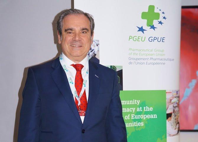 Jesús Aguilar se despide de la presidencia del PGEU con la hoja de ruta para la Farmacia Europea 2030 trazada